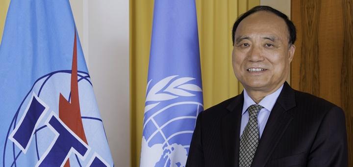Houlin Zhao, secretario General electro de la UIT. Imagen: UIT