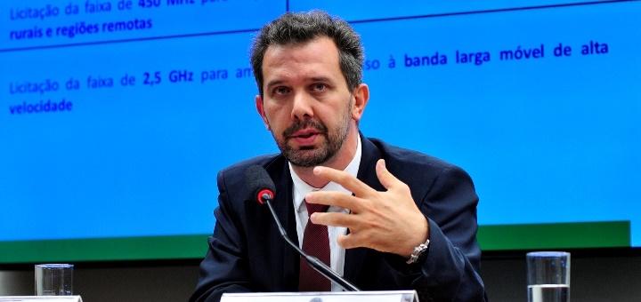 Maximiliano Martinhão, secretario de Telecomunicaciones del Ministerio de las Comunicaciones de Brasil. Imagen: Ministerio de Comunicaciones