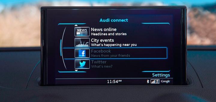 Tablero de Audi A3. Imagen: Audi