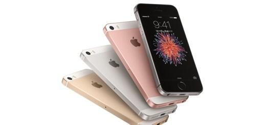 IPhone SE. Imagen: Apple