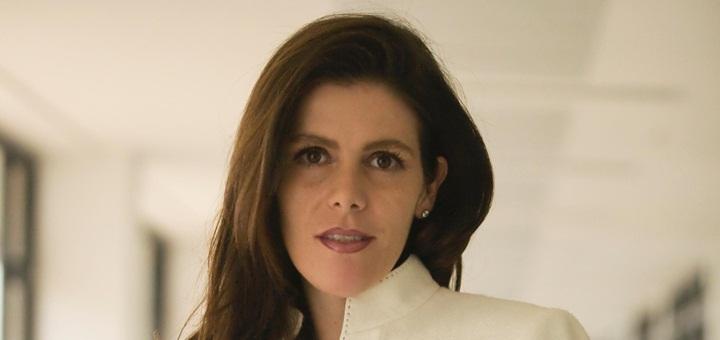 María Carolina Hoyos, al asumir como Viceministra TIC. Imagen: Mintic.