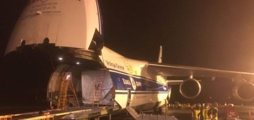 El satélite H36W-1 llegó a Kourou. Imagen: Hispasat.