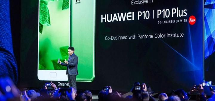 Huawei presentó dispositivos en el Mobile World Congress. Imagen: Huawei.