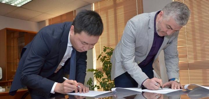 Acuerdo entre Chile y Huawei. Imagen: Subtel