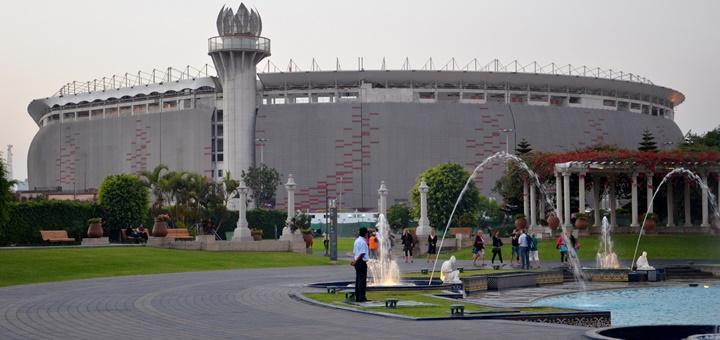 Estadio Nacional de Perú. Imagen: Christian Córdova/Flickr.