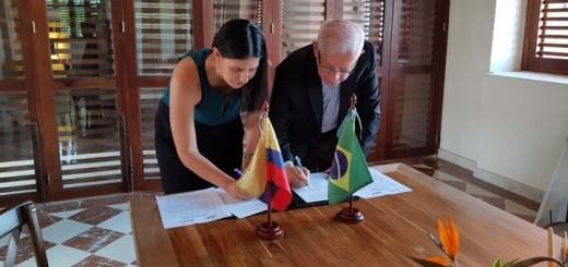 Convenio bilateral entre ANE y Anatel. Imagen: ANE.