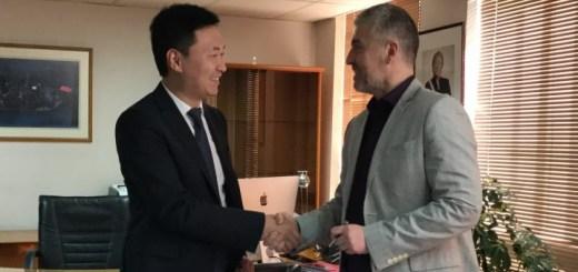 Acuerdo entre Subtel y Huawei. Imagen: Subtel.