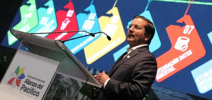 David Luna, ministro TIC de Colombia. Imagen: Mintic