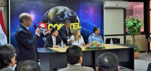 Palacios presentó el portal de IMEI bloqueados. Imagen: Conatel.