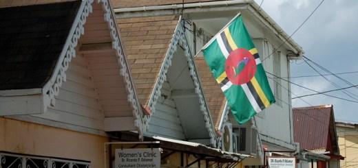Roseau, Dominica. Imagen: Ken Bosma/Flickr
