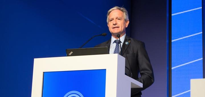 Andrés Ibarra en la Conferencia Mundial del Desarrollo de las Comunicaciones 2017.