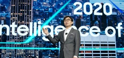 Presidente de Samsung en CES 2018. Imagen: Samsung