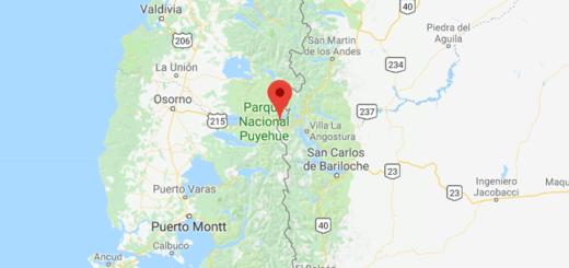 Cruce fronterizo Cardenal Antonio Samoré. Imagen: Google Maps.