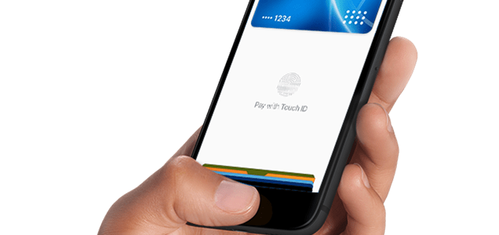 Apple Pay. Imagen: Apple.
