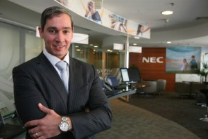 Daniel Mirabile , presidente da NEC do Brasil 1