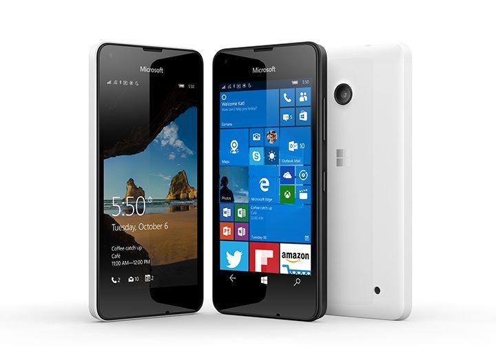 O Lumia 550 será o smartphone de entrada no universo Windows 10