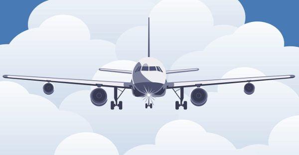 Avião by Freepik
