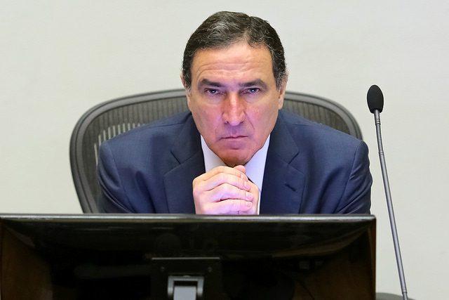 Ministro Moura Ribeiro STJ em audiencia celular pre-pago foto de Sérgio Lima