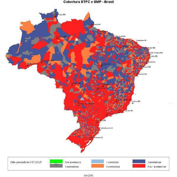 Cobertura Voz Celular e STF no Brasil 2015