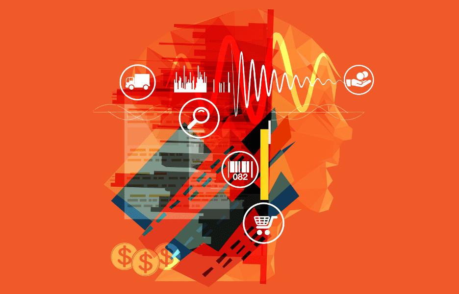 consumidor-pessoa-ideia-pensamento-busca-carrinho-de-mercado-codigo-de-barra-cidade-e-commerce-ondas-frete-transmissao-frequencia-dinheiro-valor