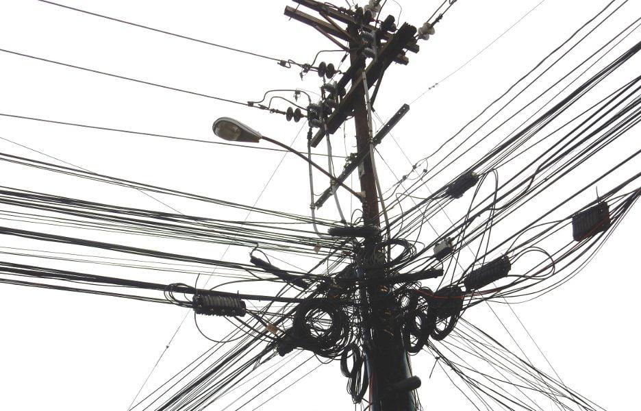 postes fio fibra cabo telecomunicacoes provedores