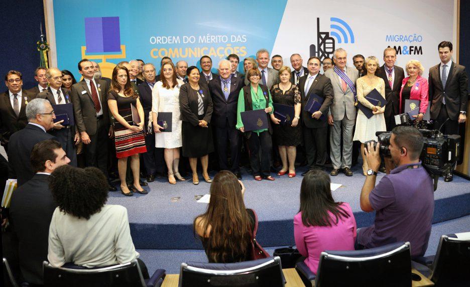 Ordem do Mérito das Comunicações (foto: Herivelto Batista)