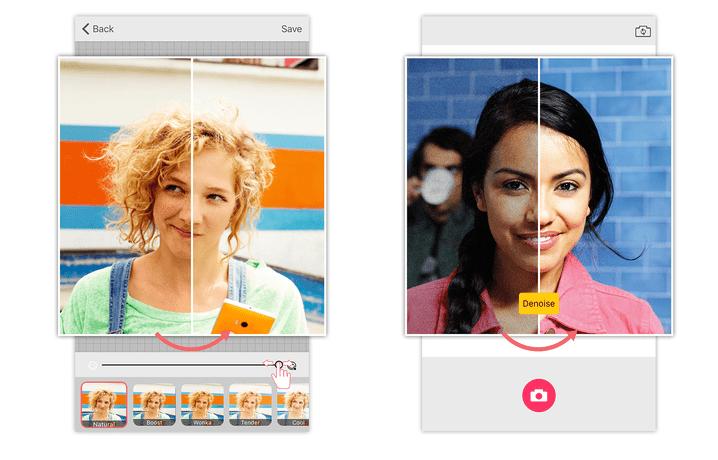 microsot selfie apple