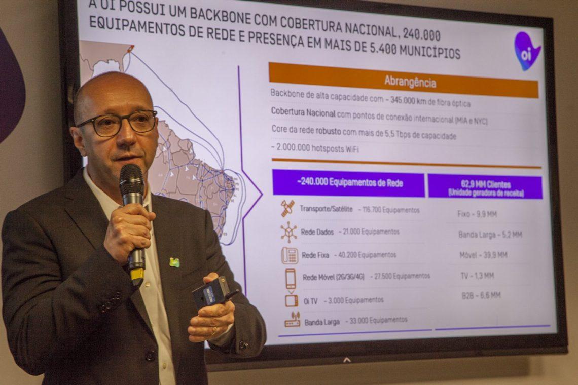 José Claudio Moreira Gonçalves, diretor de Operações da Oi