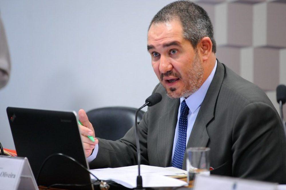 Christian Castro, presidente da Ancine. Foto: Pedro França, agência Senado.