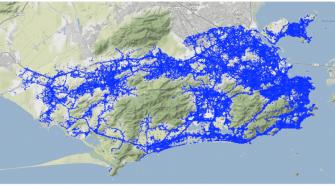 Mapa Uso LTE Rio de Janeiro