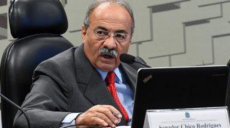 Senador Chico Rodrigues (DEM-RR) / Foto: Marcos Oliveira/Agência Senado