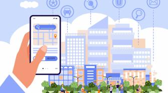 5g-energia-cidade-smartphone-celular crédito: divulgação