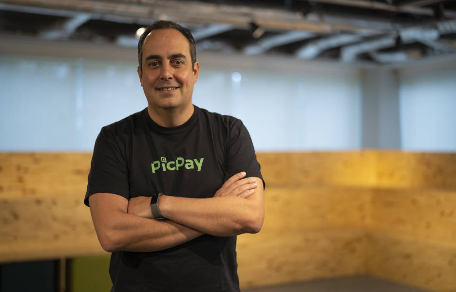 Eduardo Chedid, vice-presidente de serviços financeiros do PicPay – Crédito divulgação