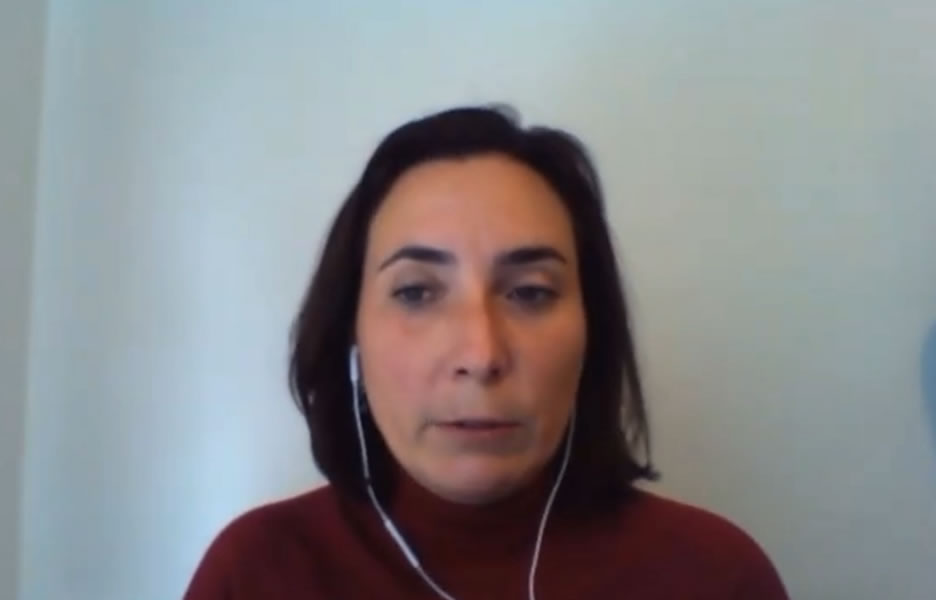 Monique Barros, Diretora da Claro - Live TS 06-08-21 - Divulgação