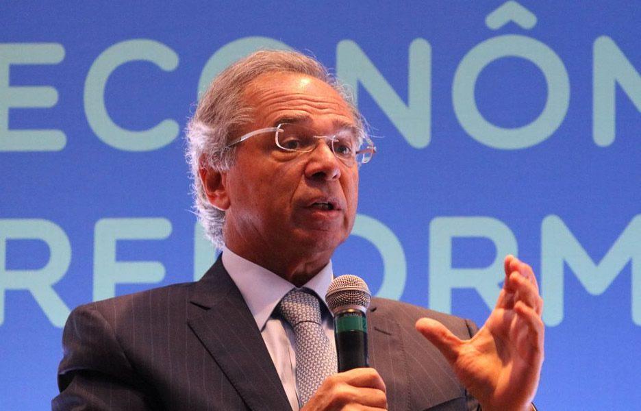 O ministro da Economia, Paulo Guedes / Foto: EBC