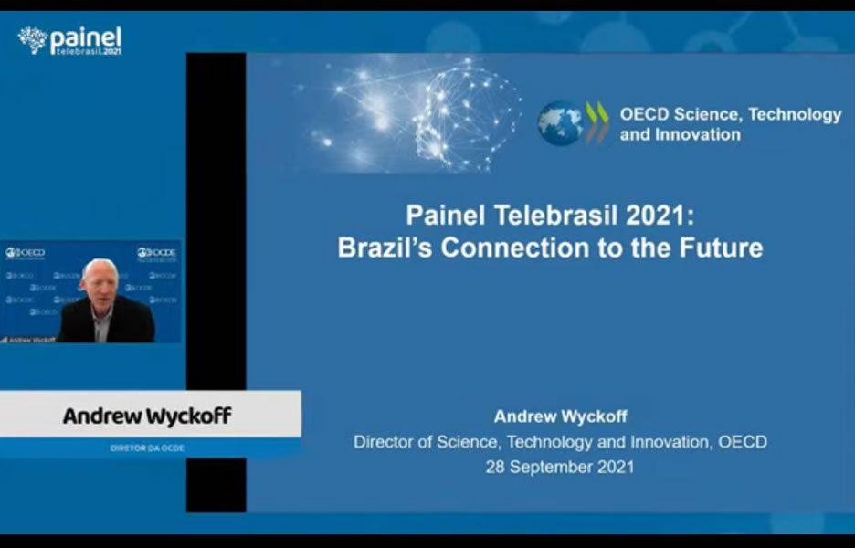 Andrew Wyckoff, diretor de Ciência, Tecnologia e Inovação da OCDE - Crédito: Divulgação