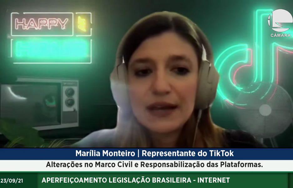 Maírlia Monteiro, Representante do TikTok - Crédito: Divulgação