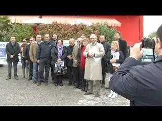 Romea, la protesta per la sicurezza