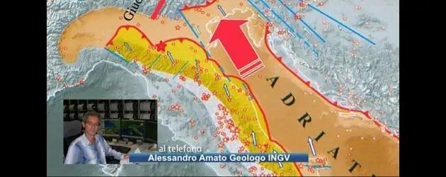 Terremoto, Ingv spiega le cause del sisma