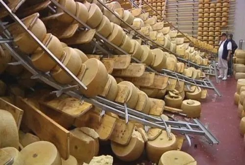 "In vendita, Parmigiano Reggiano Dop ""terremotato"""
