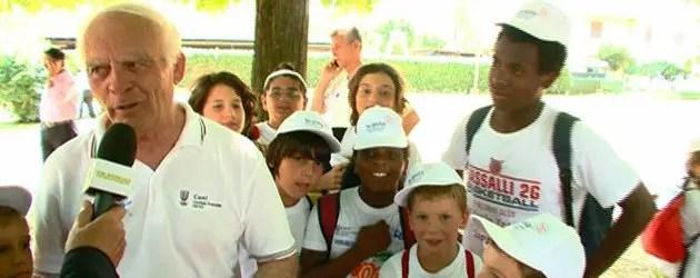Prefetto e Bambini dal Papa