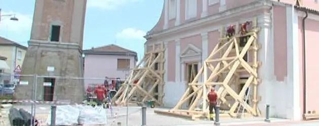 Terremoto, Mirabello e Vigarano: lavori in corso