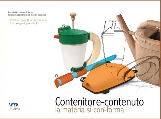 Unife, Architettura: mostra sui contenitori plastici