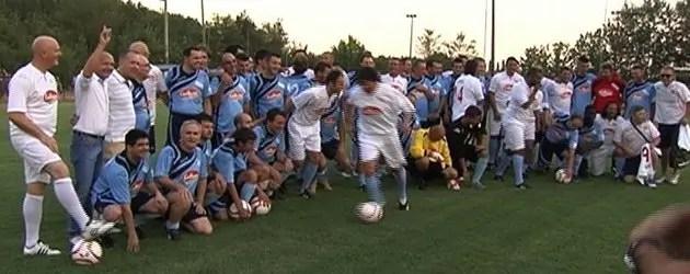 Un calcio al terremoto, in campo i big della serie A