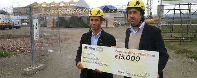 Sisma, donati 15mila euro per nuova scuola S.Agostino