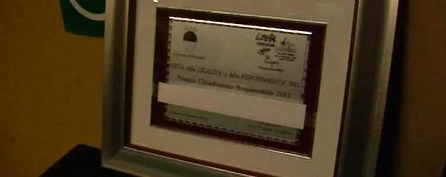 """Premio """"Cittadinanza"""" a prostituta che si è ribellata"""
