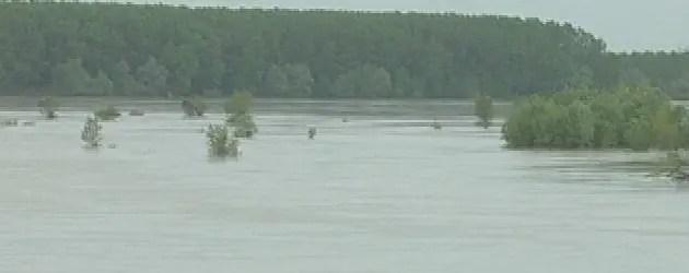 Piogge: il fiume Reno a rischio