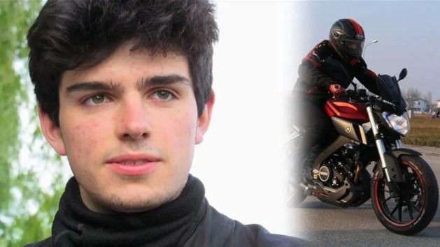 Scontro auto-moto: muore giovane studente di 17 anni
