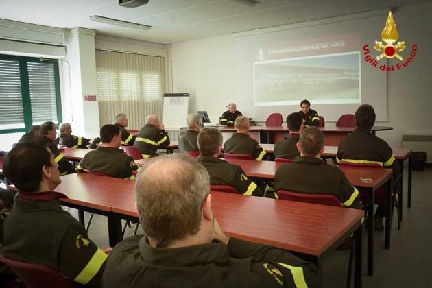 Direttore regionale dei vigili del fuoco in visita a Ferrara