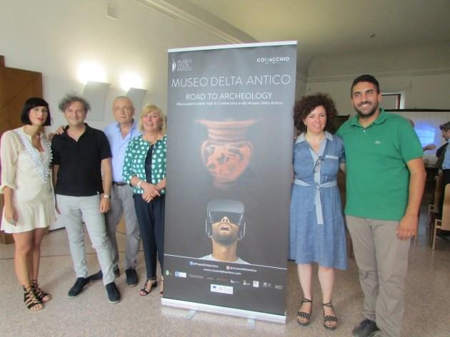 Comacchio, Cornelio direttore Museo Delta Antico. Percorso profumi antichi  – VIDEO